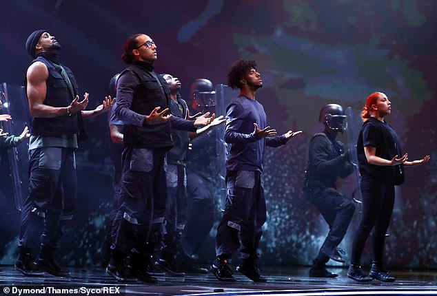 Memorable: Diversity's BLM performancewas met with mixed responses, with some calling out the display as making a 'political statement' and others hailing the dance as 'powerful'
