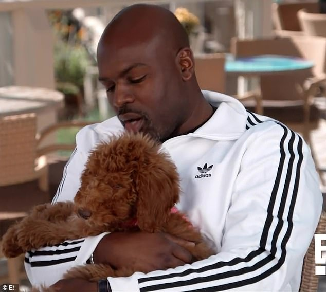 Baby mine:The 64-year-old momager was miffed when her 39-year-old beau Corey Gamble started lavishing all his attention on their pooch Bridget