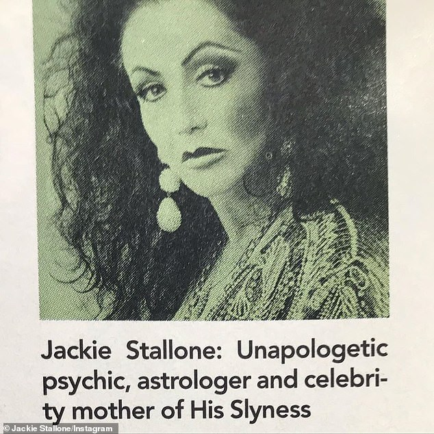 Astrologer:But Jackie's biggest passion was astrology, having written a famous book on the subject titled Star Power: An Astrological Guide to Supersuccess, which was published in 1989