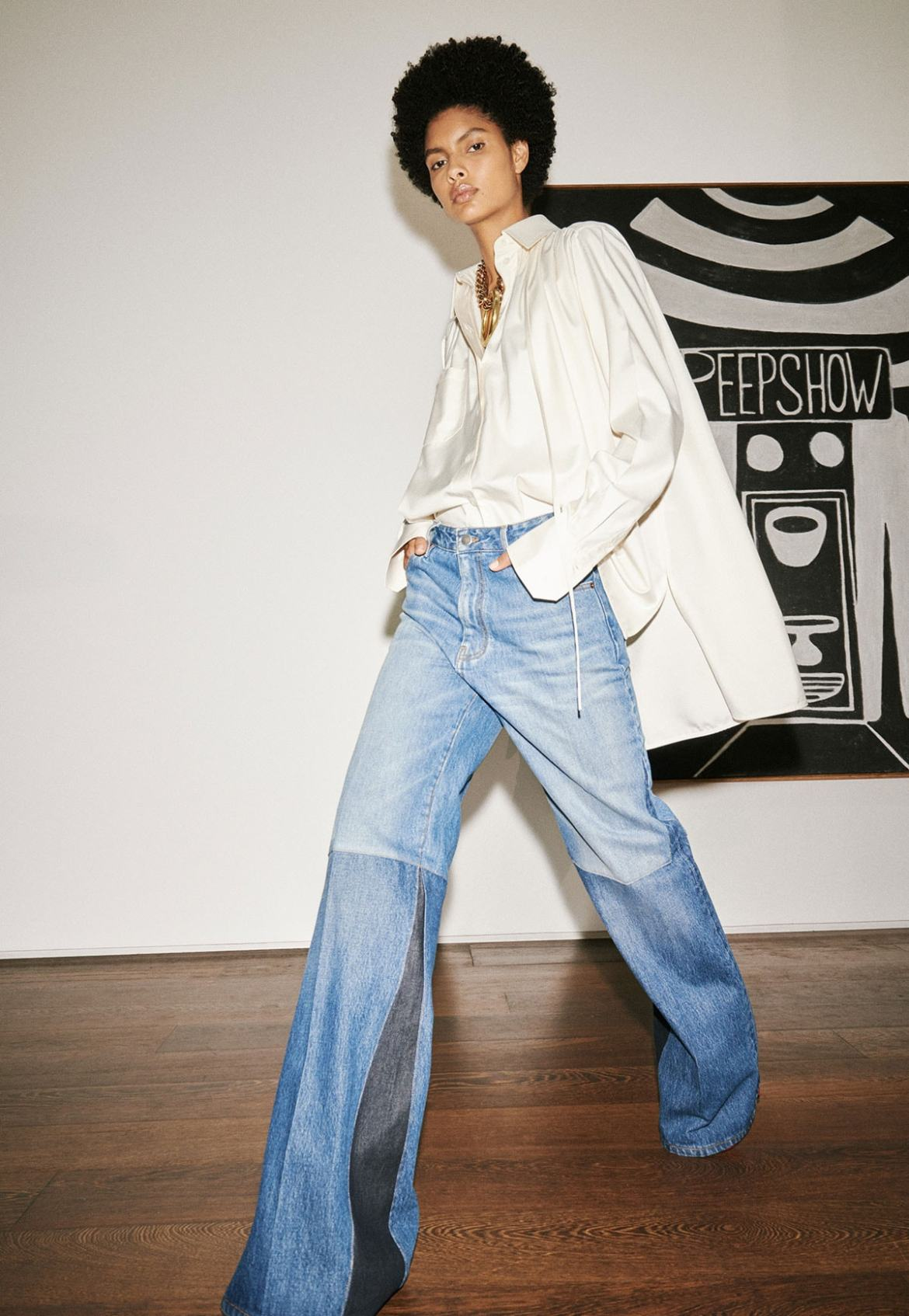 "LFW: Victoria Beckham creates ""true wardrobe"" collection for SS21"