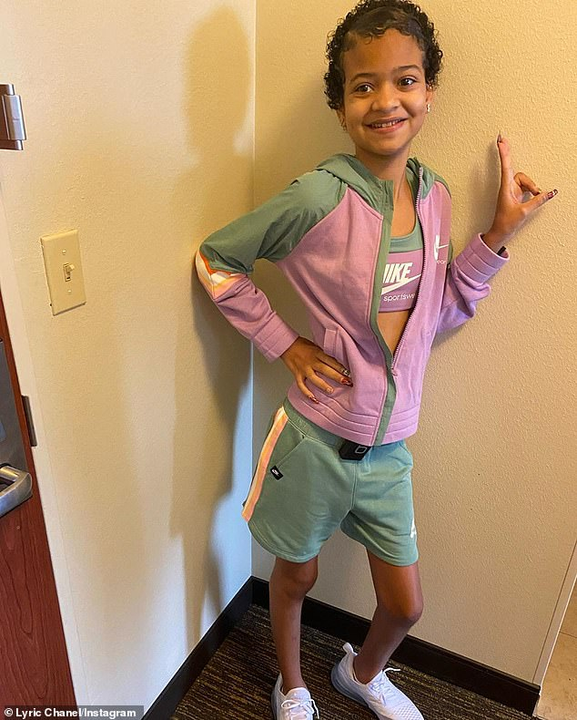One tough cookie:Since being diagnosed with brain cancer/Anaplastic Ependymoma, Lyric has undergone four separate brain surgeries