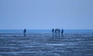 On the beach at Gravelines, near Dunkirk