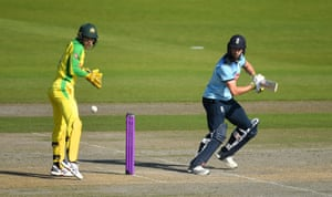 Woakes in action.