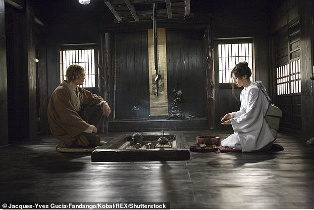 High-profile role: She starred as an unnamed Japanese concubine, whom Michael Pitt's character falls in love with, despite being married to a teacher (Keira Knightley); still from Silk