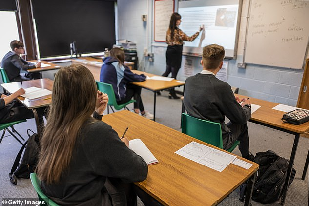 One way ms Spencer suggests helping children with the transition to socially-distanced learning is to emphasise the fact some people 'get poorly easier' than others and the child must do what they can to protect them. Picture: Stock