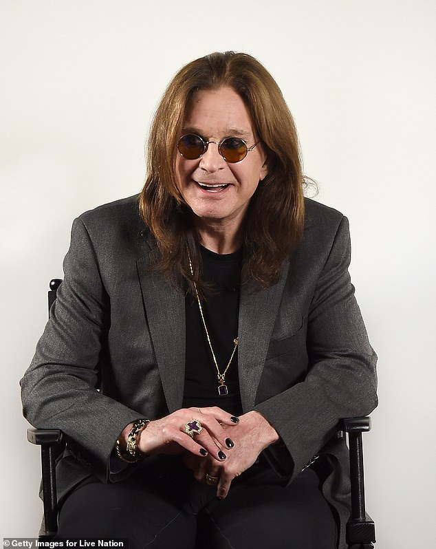 Erased: Kerslake's drum tracks were erased from Blizzard Of Ozz in a 2002 reissue, which Osbourne blamed on his wife Sharon. The original tracks were restored for the 30th anniversary release; Osbourne shown in 2018 in LA