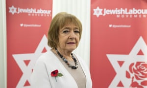 Labour Party MP Margaret Hodge attends a press conference of the Jewish Labour Movement at the offices of law firm Mishcon de Reya in London on October 29, 2020.