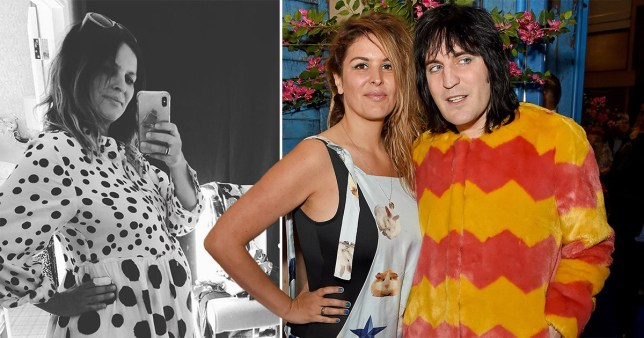 Lliana Bird with Noel Fielding