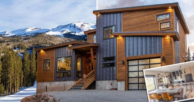 ski cabin in Utah