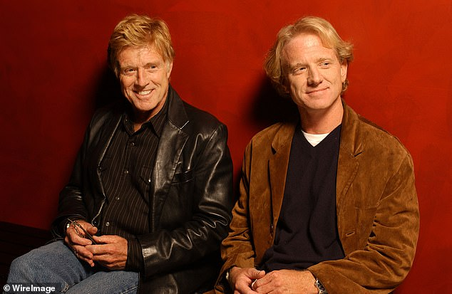 Robert Redford and his son James attend a screening of Spin screening at the AFI Fest in 2003