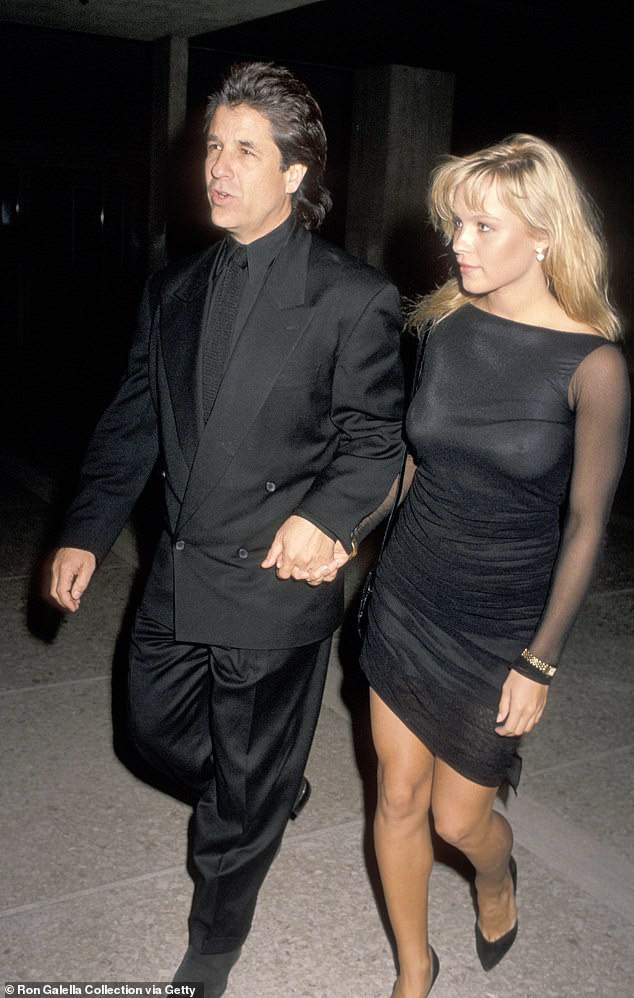 Player: As well as having been married five times, Superman Returns producer Jon Peters has a long and illustrious dating history. Seen here with Pamela Anderson in 1989