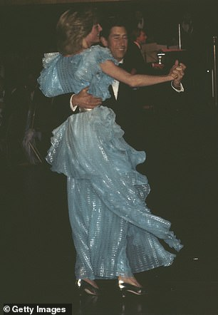 They were recreating the night the couple danced in Sydney in 1983
