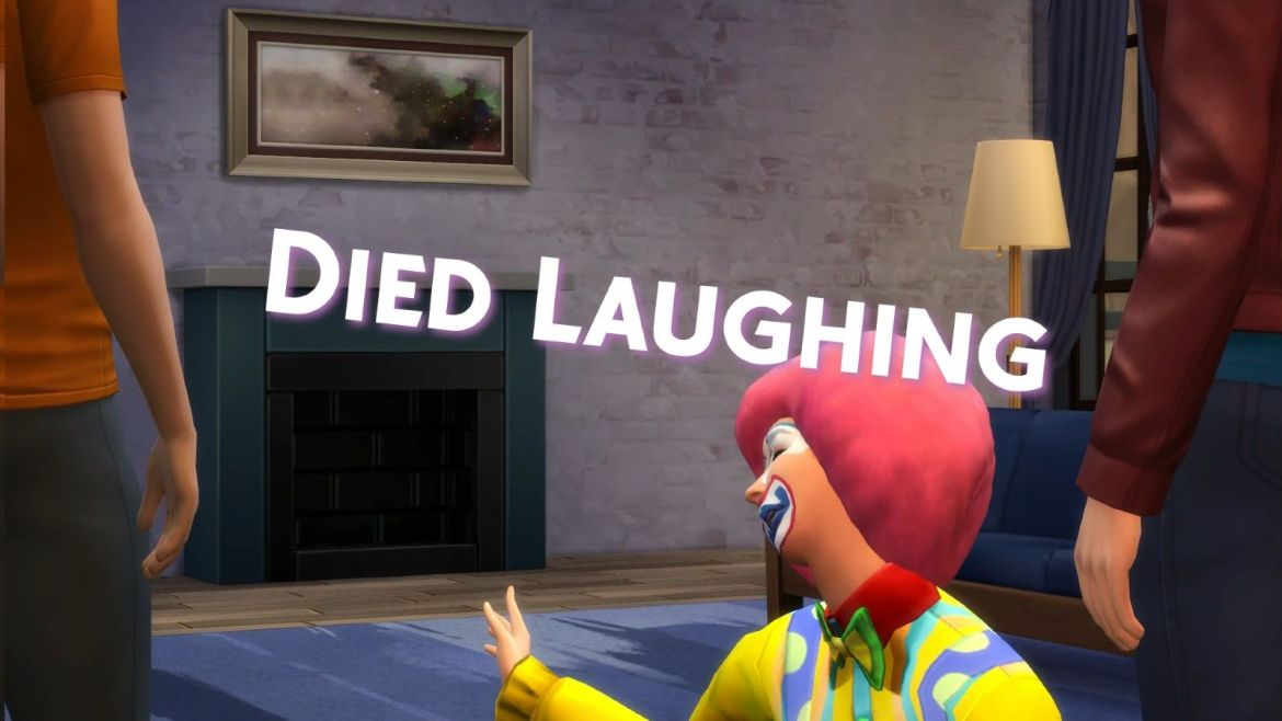 Sims 4 death by laughing