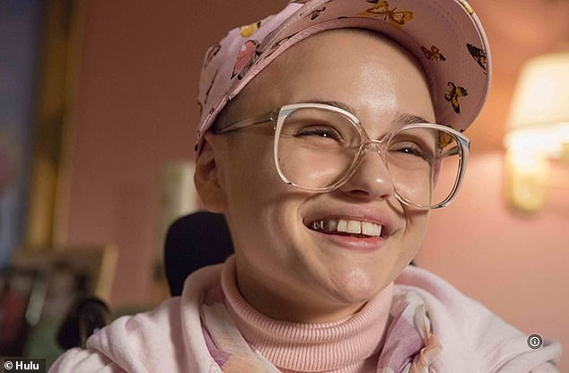 Breakthrough: King's career took a giant leap last year when she was nominated for an Emmy and a Golden Glove for her performance opposite Patricia Arquette in the Hulu series The Act