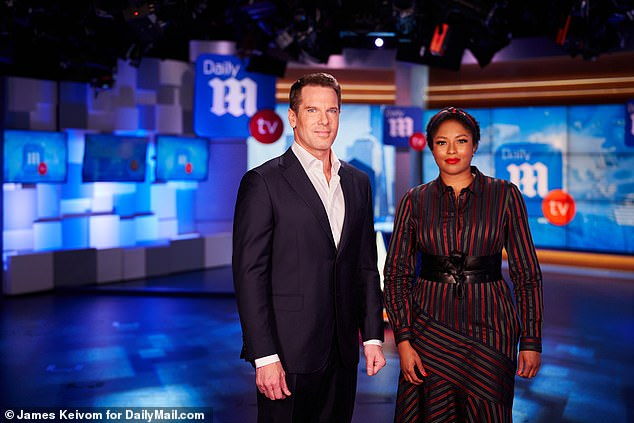Dynamic duo: Alicia will contribute to GMA3 two days per week as she continues to appear every day on DailyMailTV, which is hosted by fellow journalist Thomas Roberts