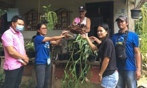 """A gardening craze dubbed """"plantdemic"""" has spread across the Philippines after coronavirus restrictions fuelled demand for greenery, sending plant prices soaring and sparking poaching from public parks and protected forests."""
