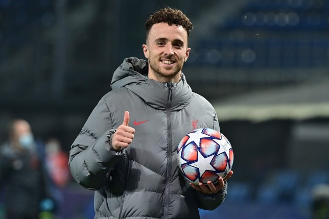 Diogo Jota scored a hat-trick in Liverpool's 5-0 win over Atalanta in the Champions League