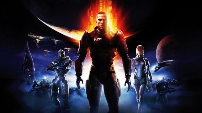 Mass Effect Trilogy key art