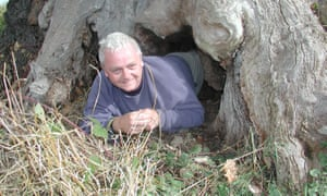 Rob McBride, tree hunter and contributor to For The Love Of Trees book