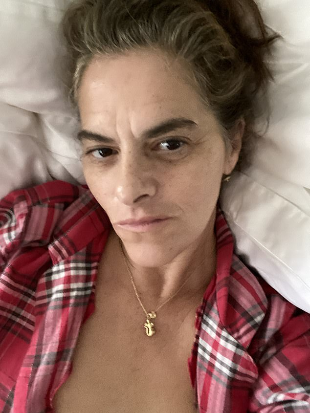 Artist Tracey Emin, pictured, has revealed she has an aggressive form of bladder cancer and expected at one point 'to be dead by Christmas'