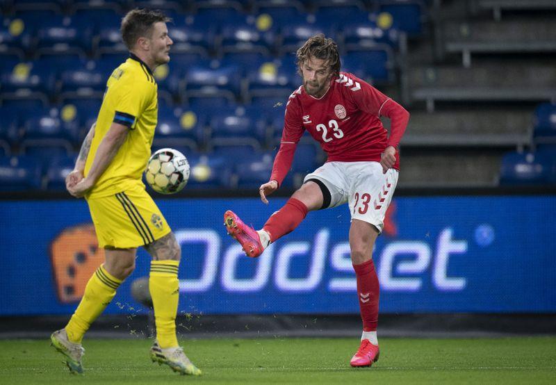 © Reuters. International Friendly - Denmark v Sweden