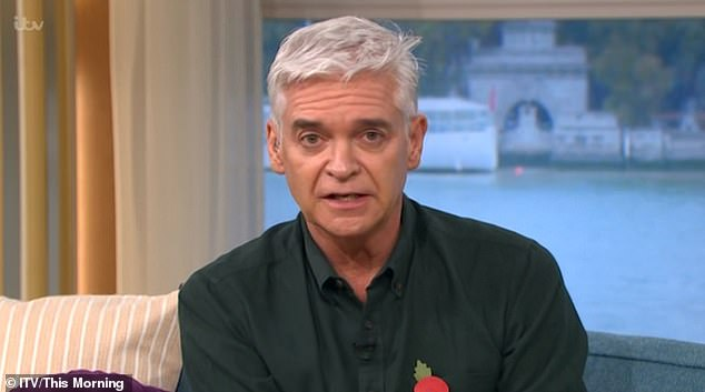 Outrage:This Morning viewers were left fuming on Armistice Day after an official 'disrespectfully' spoke over the two-minute silence in an unfortunate blunder