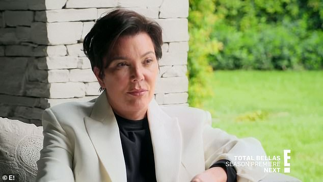 Family matriarch:Tristan went to talk to Kris Jenner, who said that when he hurt Khloé, he hurt the whole family, but she still wanted them to be happy