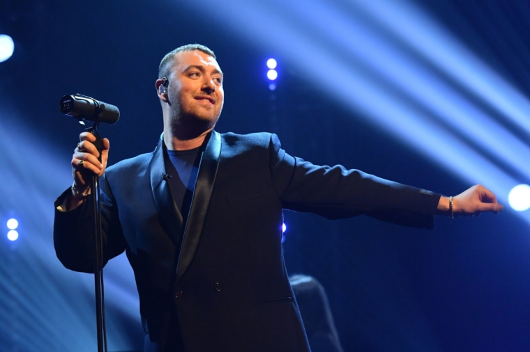 EDITORIAL USE ONLY Sam Smith performs during the filming for the Graham Norton Show at BBC Studioworks 6 Television Centre, Wood Lane, London, to be aired on BBC One on Friday evening. PA Photo. Picture date: Thursday October 22, 2020. Photo credit should read: PA Media on behalf of So TV