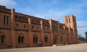 The church in Ouagadougou where Nanjala stayed during her trip to Burkina Faso