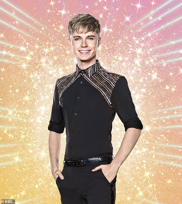 Recovered:Days before the series began, there had been doubts over whether singer HRVY would be able to compete, as he tested positive for coronavirus