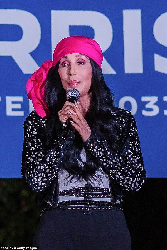 'Hoping for the best':Cher said she was 'not going to watch TV' on election night