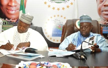 niger state swearing in