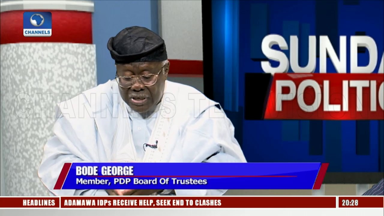 Image result for PDP has many credible candidates to compete with Buhari - Bode George
