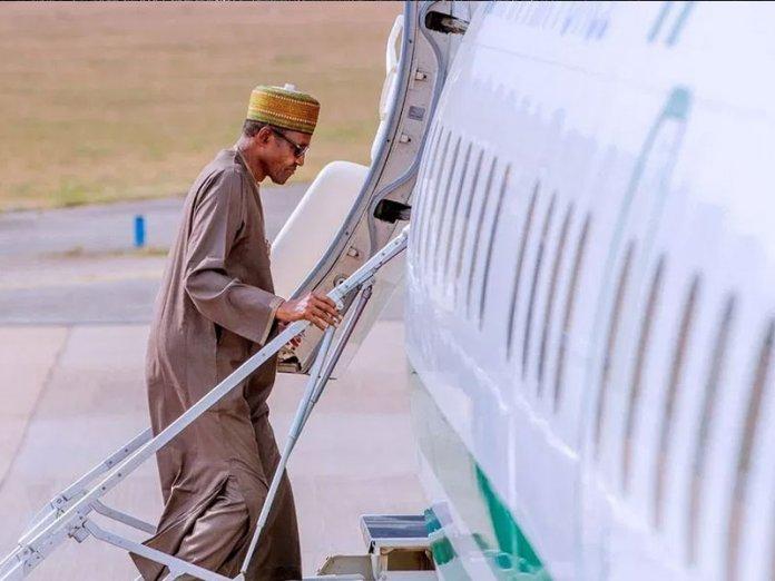 Image result for TICAD7: President Buhari departs Abuja for Japan