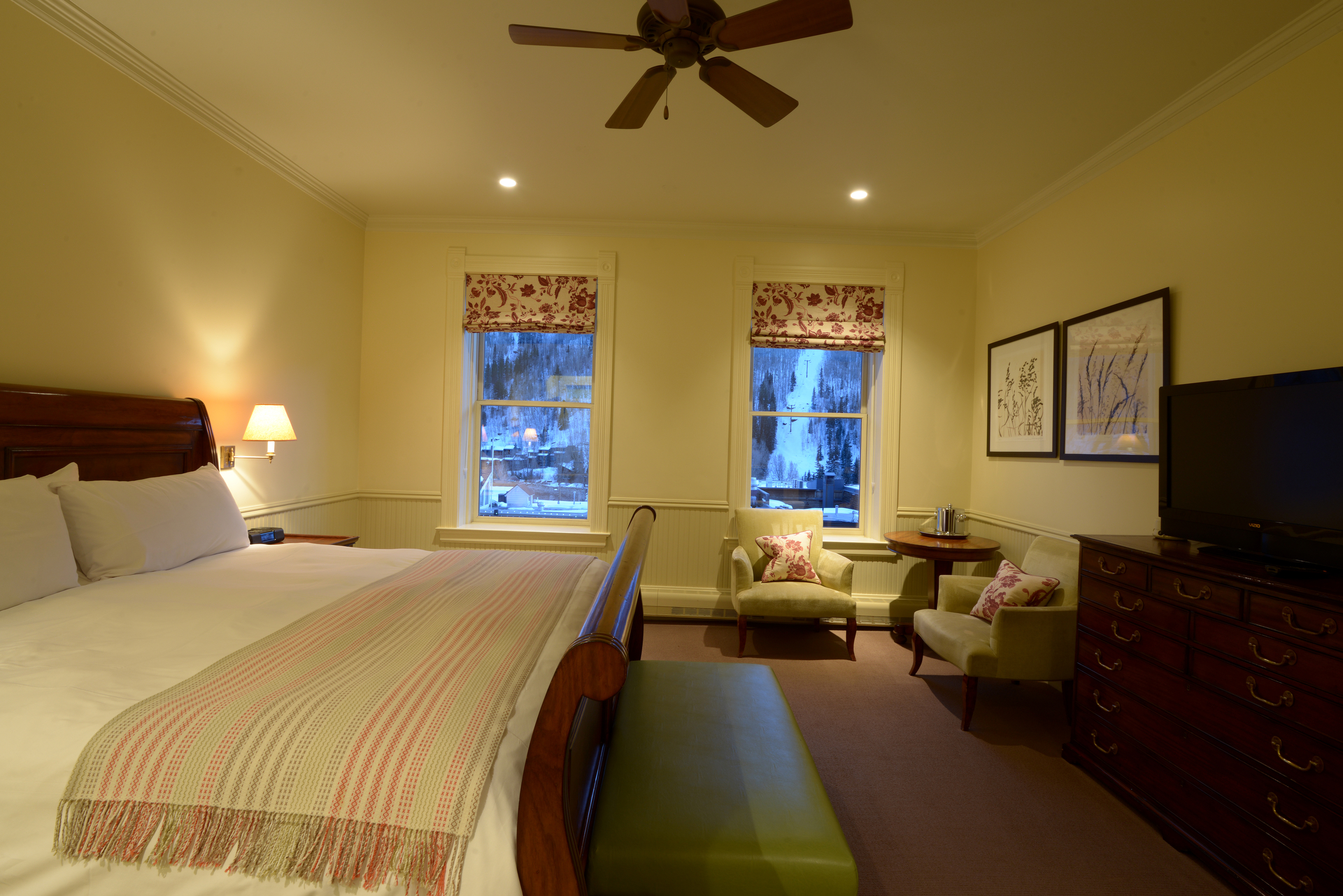 3rd Floor Main Street Rooms  New Sheridan Hotel Telluride