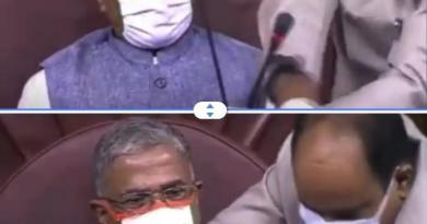 कृषि बिल पर चर्चा के दौरान संसद में विपक्ष ने किया हंगामा