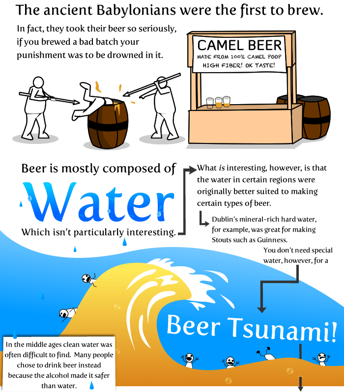 20 Things worth knowing about Beer Infographic