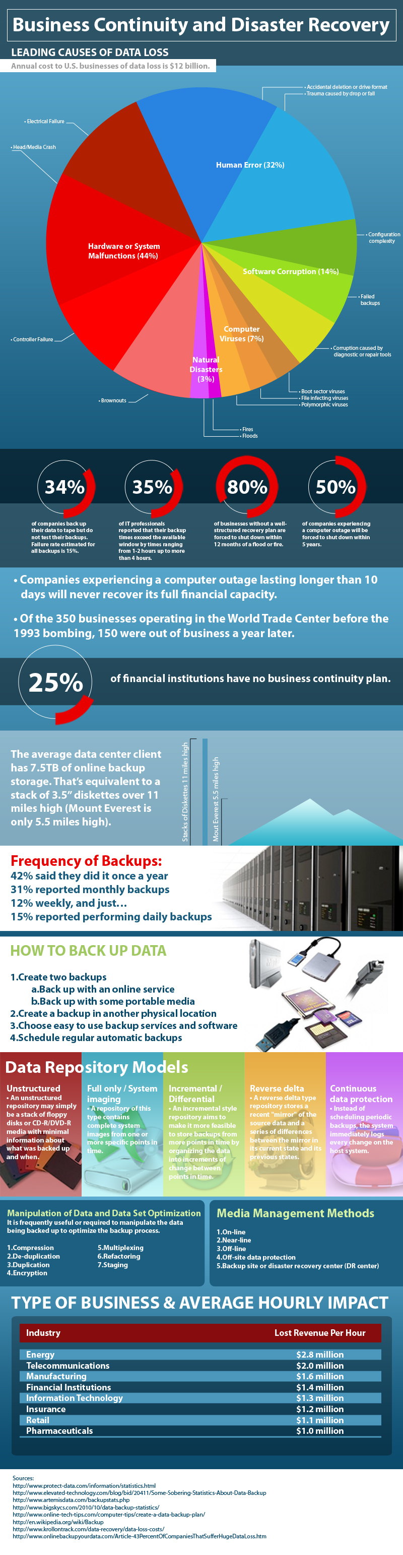 Data BackUp Infographic