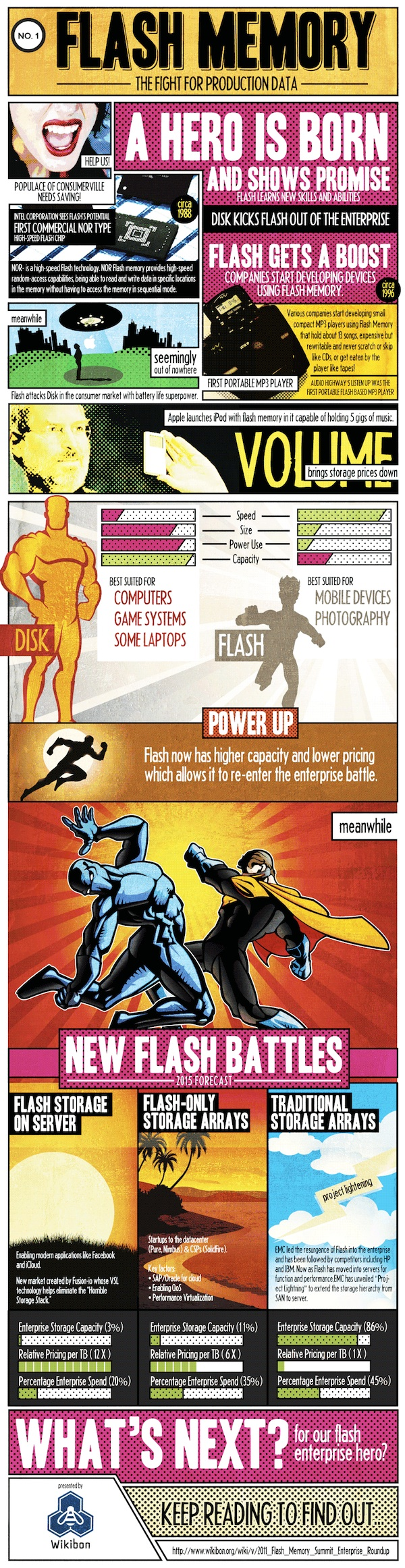 A Hero is Born: Flash Memory 1
