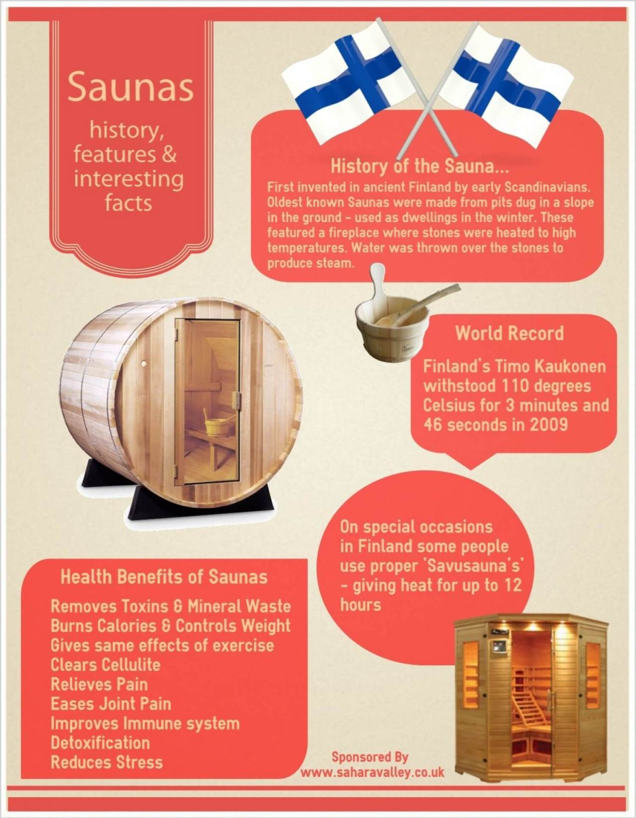 Saunas: History and Facts