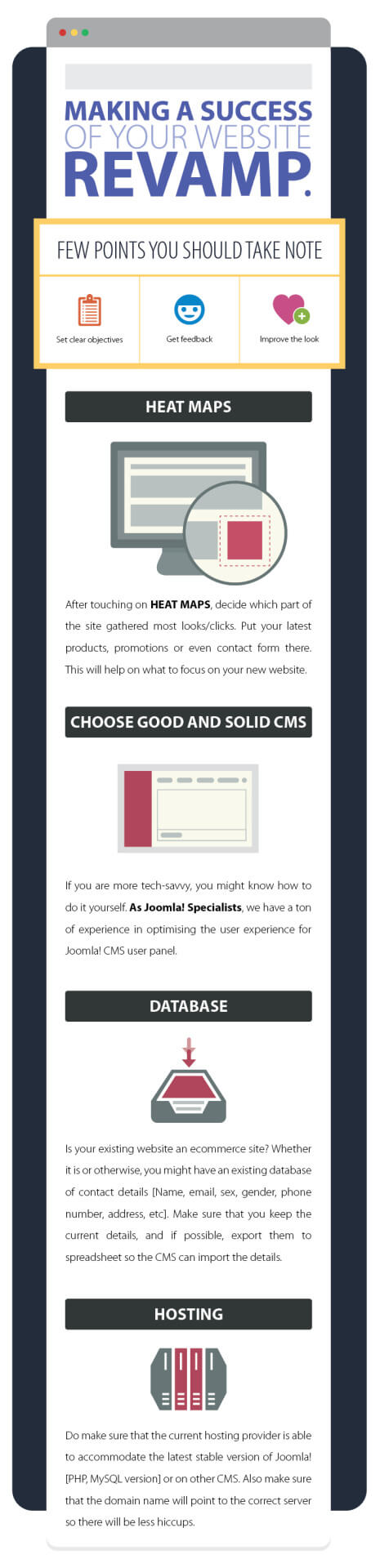 Making a Success of Your Website Revamp
