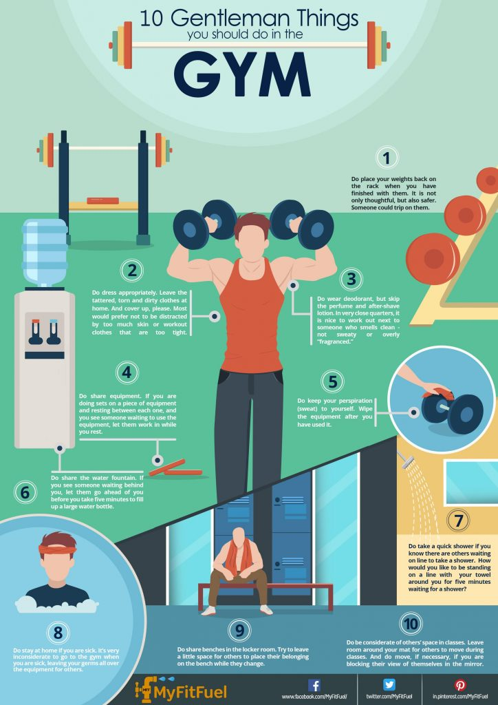 10 Gentleman Things you should do in the Gym