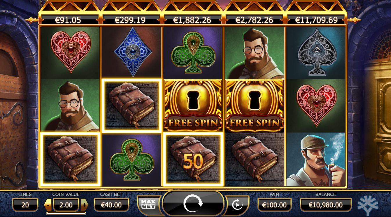 Slot machine stone age