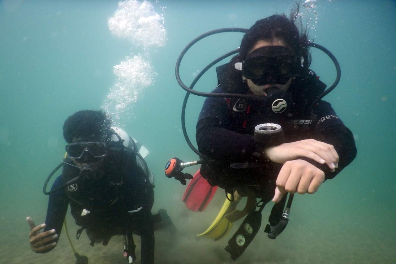 Experience Scuba Diving at Grand Island in Goa 5