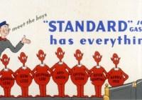 Evolution of Standard Oil
