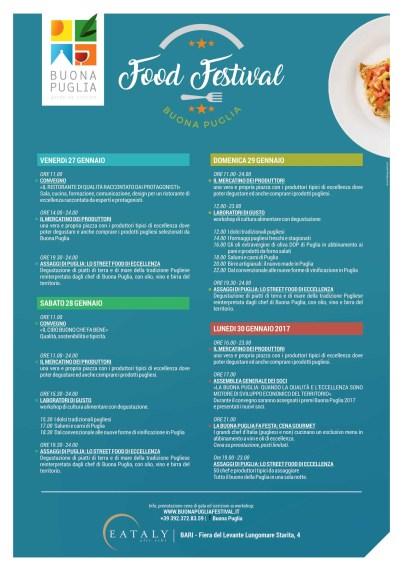 buonapugliafoodfestival_programma