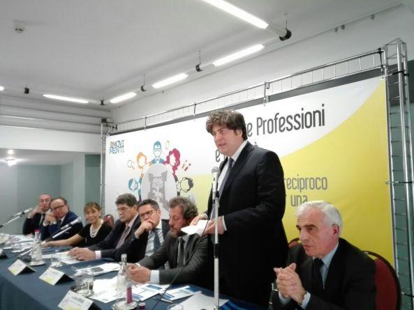 Foto relatori convegno Ordini professionali