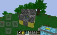Minecraft: PE with Mushroom Farming, Cubic Art and Trippy Men : Minecraft PE Nether Reactor
