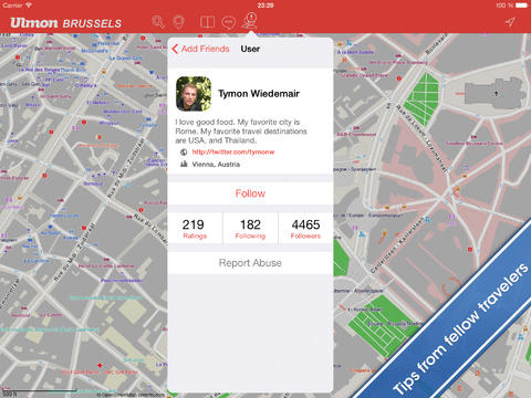apps details Brussels Travel Guide and Offline Map download