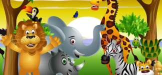 Animals Savana: Entertaining and Educating Game: Animals Of The Savana   Amazing Hidden Objects For Kids